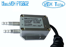 Low differential pressure transducer 4-20mA 0-5V 1-5V 0-10V