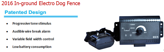 2016 Ebay Hot Outdoor Electronic Pet Dog Fence System, Protable Wireless Invisible Electric Fence For Dog, Cheap Dog Run Fence