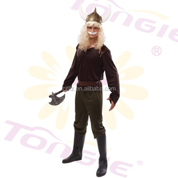 Hot sale sexy Pirate Viking Costume Halloween cosplay Costumes for man