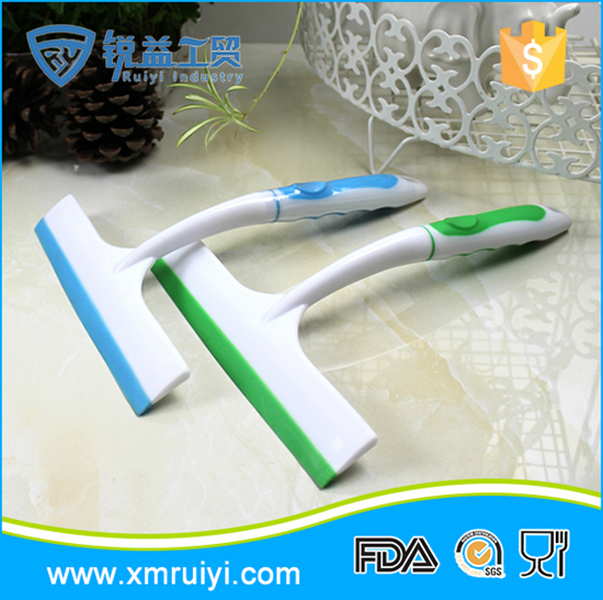 Good quality colorful handheld plastic squeegee window wiper