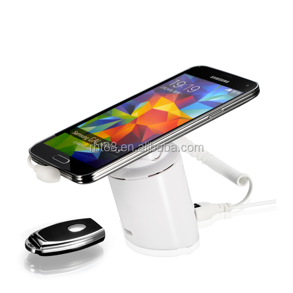 Mobile phone anti theft alarm/ Cell phone security display holder with alarm