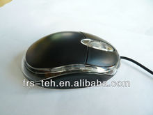 Most Cheapest wired 3d optical black mouse 0.68usd/pc