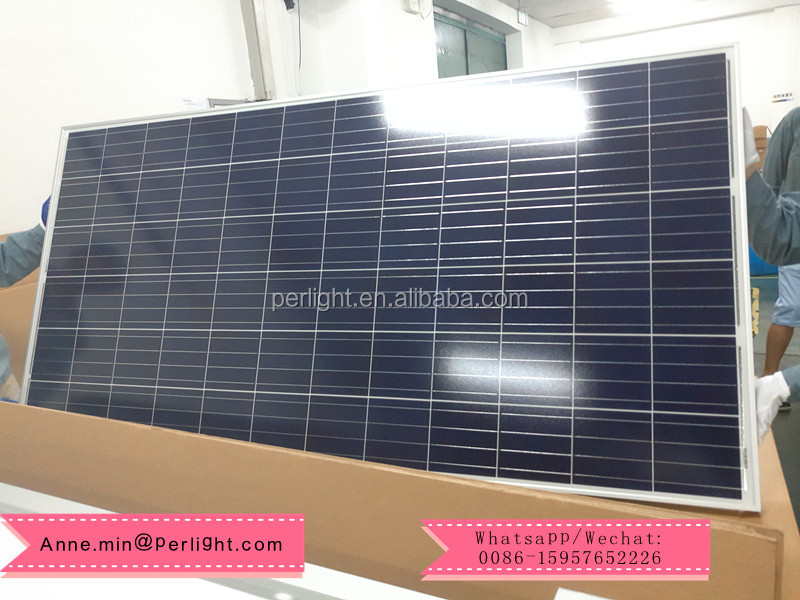 Perlight High Efficiency Solar Panel 310W Price Sunpower System 320 Watts 24V Solar Module PV Panels Mexico