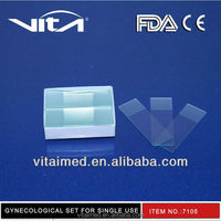 Disposable Microscope Slide Glass GG001 With CE/FDA/ISO13485 Certificate