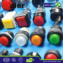 Daier mini push button switch round switches on off micro switches push button