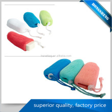 wholesale household plastic mesh net soap bag