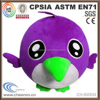 CE standard kid toy cute birds doll stuffed toy