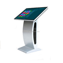 "27"" inch LED signage information interactive display PC touchscreen kiosk stand i3 i5 i7 cpu"