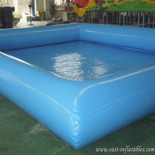 Large Outerside Metal Frame PVC Inflatable Swimming Pools , Durable and Portable