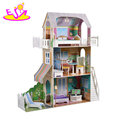 New fashion miniature America style wooden doll house set for kids W06A269