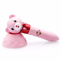 brand new portable Bear Style kids language translator tool learning machine arabic read pen for children
