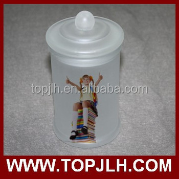 Sublimation Glass Seal Pot Frosted Glass Pot
