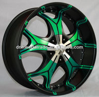 Alloy Wheel Rim 20x8.5J 22x9.5J Chrome Wheel Dub Style Wheel Rim Big Outer