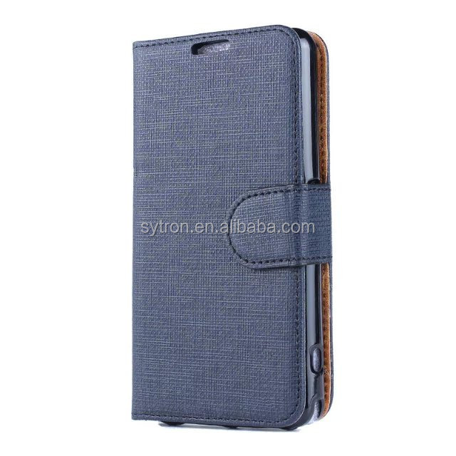 Protective Cover Denim Silicone Concised Flip Mobile Phone Case For Sony Xperia M