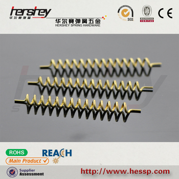 high quality custom copper conductive antenna spring on sale