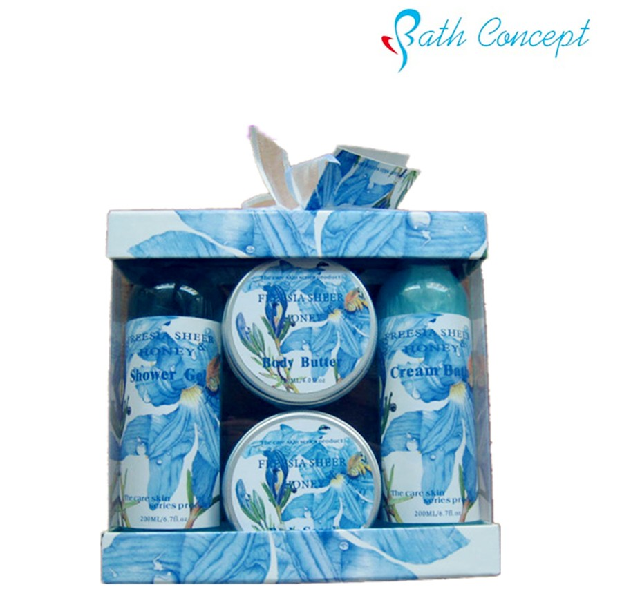 OEM customized wholesale Private label body travel bath set