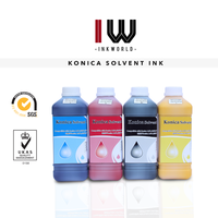 Konica KM512 solvent ink for Allwin C12/C8 printer machine