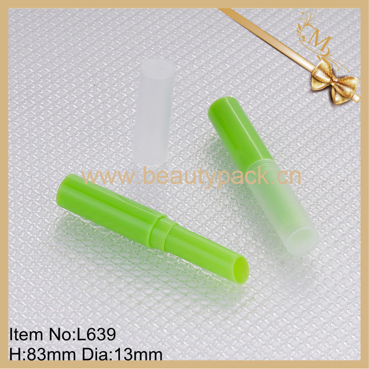 wholesale clear empty lip balm containers