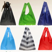 recycled PET/recycled polyester/eco-friendly taffeta fabric for lining/handbags