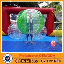 Adult Human TPU Inflatable Bumper Bubble Ball Buddy/Durable TPU soccer bubble