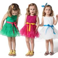 New coming simple design fashion kids casual wear girl dress from China