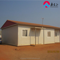Steel structural modular prefab residential house