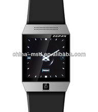 2013 latest capacitive touch screen Android 4.04 os smart watch mobile phone with Bluetooth,GPS, WIFI ,FM, MP3,MP4,2.0M camera