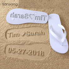 Wholesale slippers from china wedding beach party flip flops shoe
