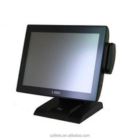 NEW cheap flat pad All In One Pos System Dual Screen Lowest Price support OEM
