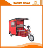 big loading electric passenger tricycle three wheels electric rickshaw