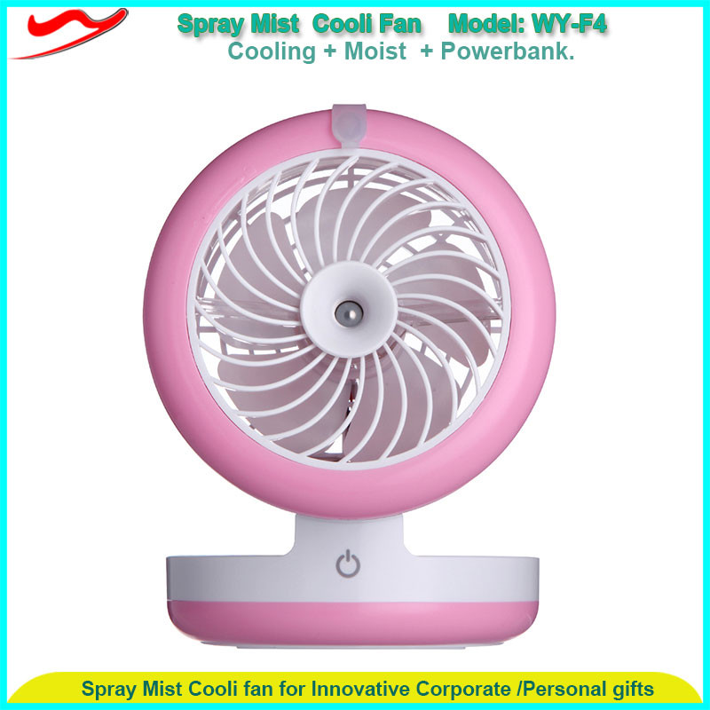 Cheap factory price new usb 30ml battery spray fan automobile invention