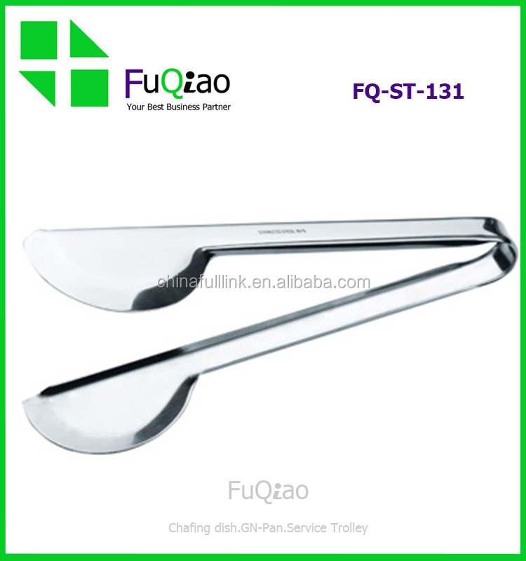 Wholesale Cooking Tools Food Grade Stainless Steel Mini Food Serving Tongs