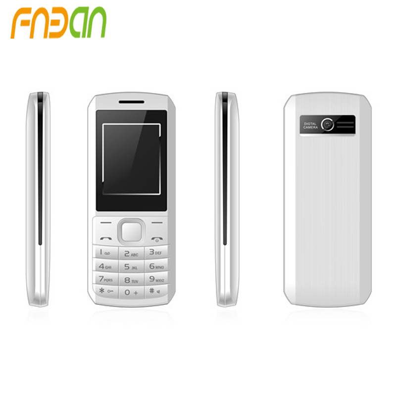 OEM High Quality China Mobile Phone 1.77 inch Dual SIM Card GSM Four Band 800mAh Big Battery