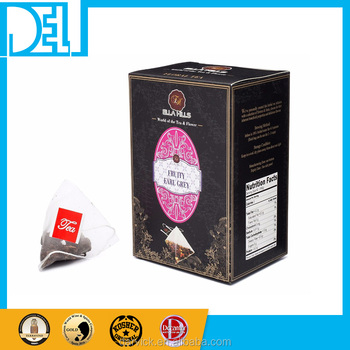 Natural and Organic Kosher Original Ella Hills Premium Fruity Earl Grey Tea