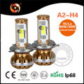 LED Headlight A2 All in One Design Canbus Hi Lo H4 led headlights H7 H11 9005 HB4 9003 9007 9004 h4