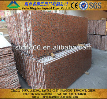 Mingdian maple red granite tile