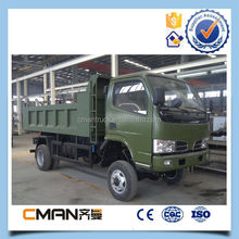 dongfeng 6 wheel mini 4wd tipper truck used to tranport sand for sale
