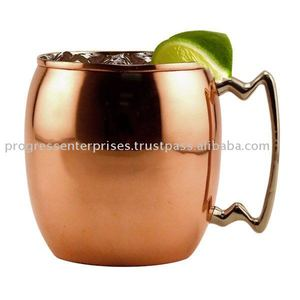COPPER MOSCOW MULE Smirnoff vodka and ginger beer copper mugs MUG