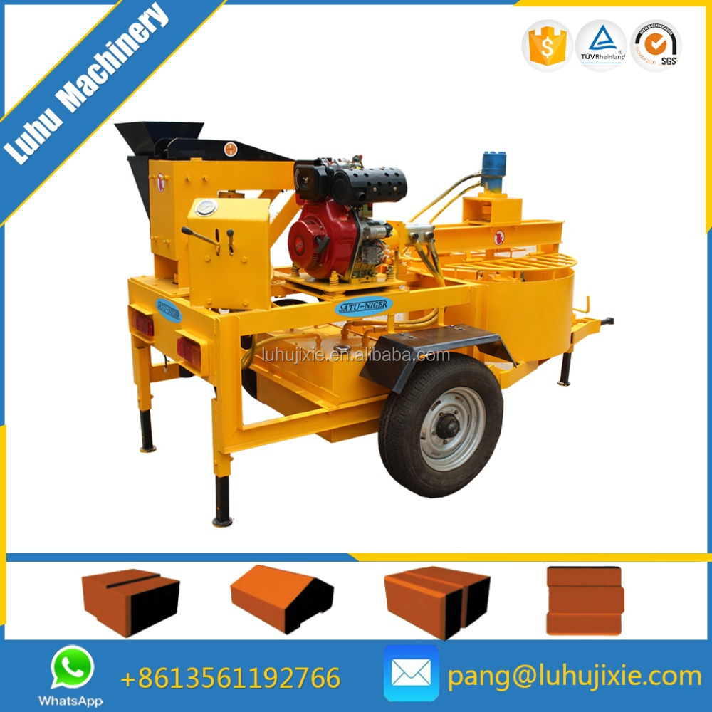 M7MI Super portable clay brick making machine