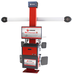 manufacture 3d wheel alignment with manual adjustable camera bar