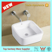 popular top ceramic stainless steel foot wash basin