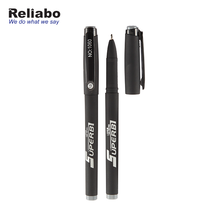 Reliabo Best Selling Products Custom Printed Company Logo Promotion Black Gel Ink Pen