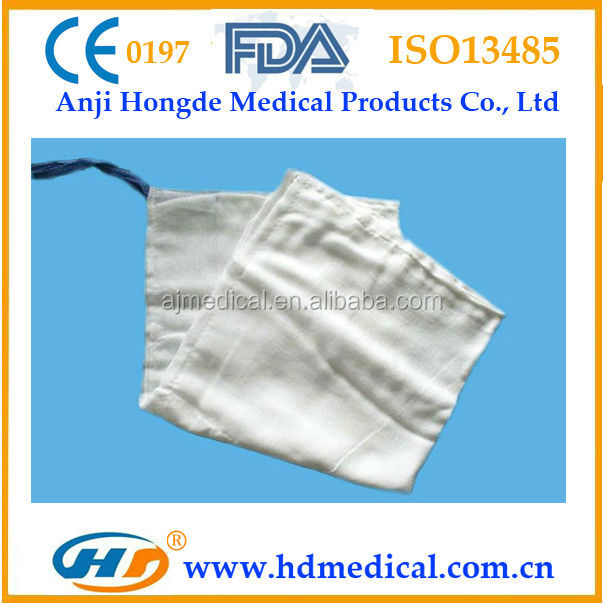 HD-30811 X-ray Detectable First Aid Sterile Lap Sponge Different Sizes Avaliable