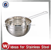 Stainless Steel Colander With Wire Handle