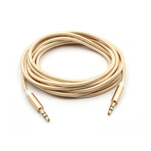 3M AUX Audio Cable 3.5mm Male to Male Gold Plated Stereo Jack Cable for Speaker and Car Stereo
