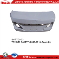TOYOTA CAMRY 06-10 car metal trunk lid auto body parts names