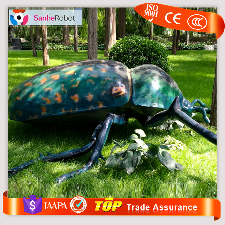 Large indoor models Fiberglass robotic insect for sale
