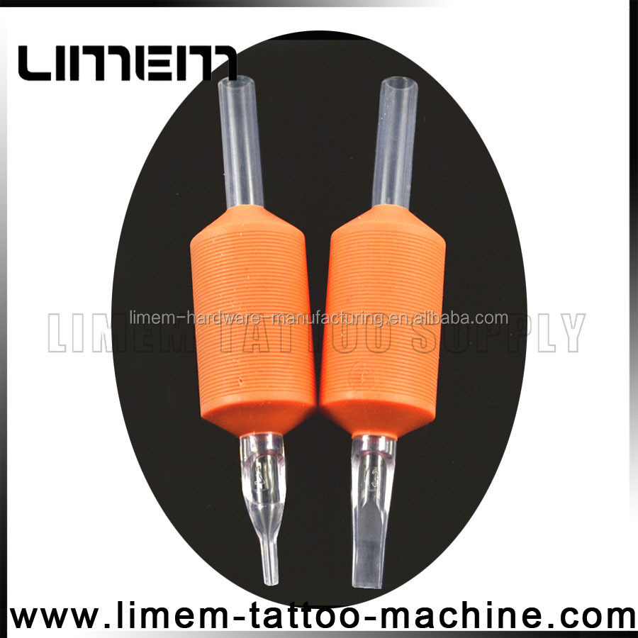 1 inch Silicone Tattoo Disposable Grip Rubber grip tube tattoo plastic grip excellent quality