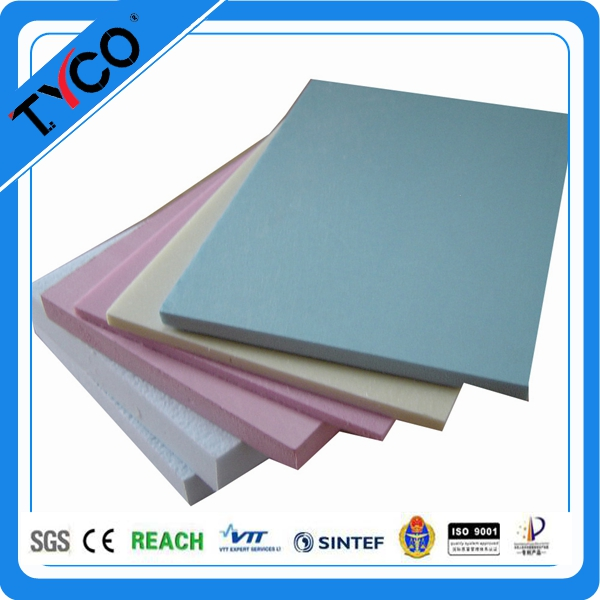 Building Insulation Waterproof XPS Foam Board White Color