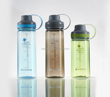 BPA Free 600ml sports plastic water bottle for bicycle